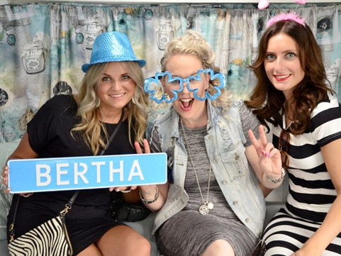 Caravan Photobooth Bertha