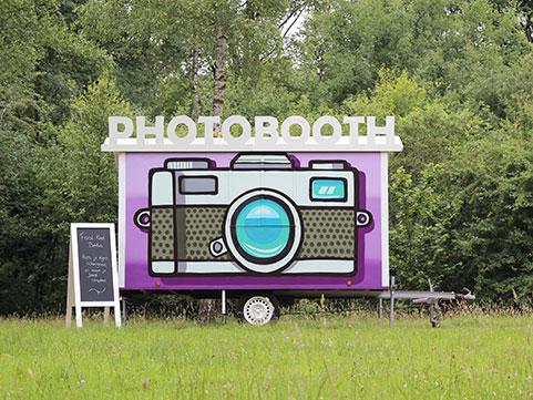 Photobooth, fotohokje huren bij Evenso.